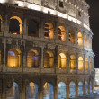 Stock Photo: Italy Rome Coliseum closeup