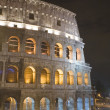Italy Rome Coliseum in the night — Stock Photo