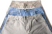 Jeans macro — Stock Photo