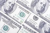 Ceny dolara zbliżenie — Zdjęcie stockowe