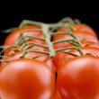 Red tomato closeup — Stock Photo