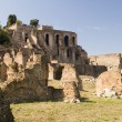 Roman forum Italy - Stock Photo