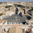 Rome Saint Peter Square — Stock Photo
