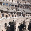 Stock Photo: Ruins coliseum in Rome