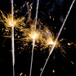 Sparkler closeup — Photo