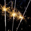 Sparkler closeup — Stock Photo