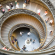 Spiral stairs in vatican — Stock Photo #1904665