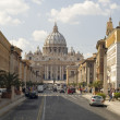 St. Peters Basilica day — Stock Photo