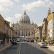 Stock Photo: St. Peters Basilica day