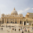 Foto de Stock  : St. Peters Basilicin Rome