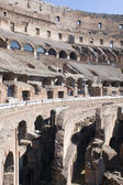 Ruins coliseum in Rome — Stock Photo