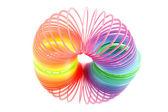 Spiral spring toy — Stock Photo
