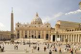 St. peters bazilice v římě — Stock fotografie