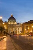 St. Peters Basilica — Stock Photo