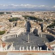 Stock Photo: VaticSaint Peter Square