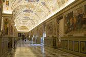 在罗马的梵蒂冈博物馆 — 图库照片
