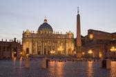 Vatikánská bazilika st. peters — Stock fotografie