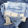 Blue jeans — Stock Photo #2288922
