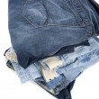 Blue jeans on white — Stock Photo #2289328