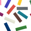 Colored plasticine — Stock Photo