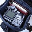 Stock Photo: Photographer`s bag