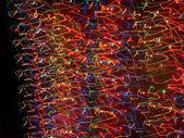 Luzes psicadélicas elétricas — Fotografia Stock