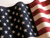 American flag 2 — Stock Photo