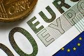 Euro banknote — Stock Photo