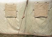 Military tent — ストック写真