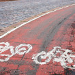 Cycle path — Stock Photo