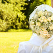 Stock Photo: Bride with bridal bouquet