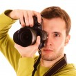 Young photographer — Stock Photo #1670385
