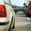 Traffic jam on highway — Stock Photo #1694297