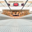 Shopping center (blurred) - Stock Photo