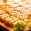 Sushi set (shallow DOF) - Stockfoto