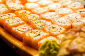 Sushi set (shallow DOF) — Stock Photo