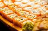 Sushi set (shallow DOF) — Stock Photo