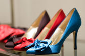 Shoes on the store (Shallow dof) — Stock Photo