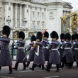 Guards at Buckingham Palace - Foto Stock