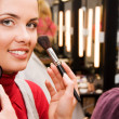 Young woman in the beauty salon — Stock Photo #1830448