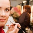 Young woman in the beauty salon — Stockfoto #1831453