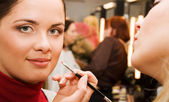 Young woman in the beauty salon — Stock Photo