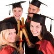 Group of students - Stock Photo