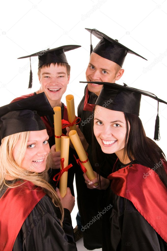 Group of students — Stock Photo #1953777