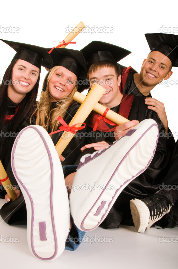 Group of students — Stock Photo #1953781
