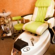 Interior of a room for pedicure — Stock Photo