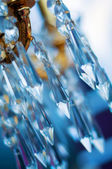 Chrystal chandelier (shallow dof) — Stock Photo