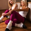 Girls dancers — Stockfoto