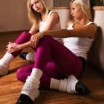 Girls dancers — Stock Photo