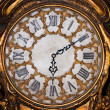 图库照片: Old antique clock